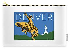 Denver Cowboy/dark Blue Carry-all Pouch