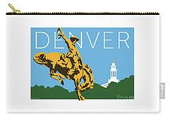 Denver Cowboy/sky Blue Carry-all Pouch