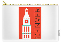 Denver D And F Tower/orange Carry-all Pouch
