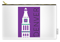 Denver D And F Tower/purple Carry-all Pouch