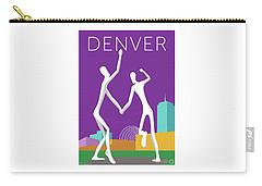 Denver Dancers/purple Carry-all Pouch