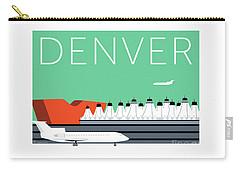 Denver Dia/aqua Carry-all Pouch