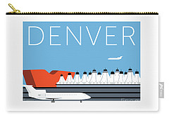 Denver Dia/blue Carry-all Pouch