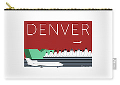 Denver Dia/maroon Carry-all Pouch