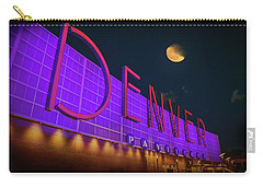 Denver Pavilion At Night Carry-all Pouch by Kristal Kraft