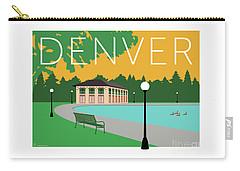 Denver Washington Park/gold Carry-all Pouch