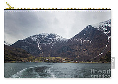Carry-all Pouch featuring the photograph Departing Flam by Suzanne Luft