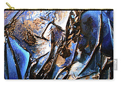 Carry-all Pouch featuring the mixed media Depth by Angela Stout