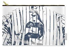 Derek Jeter New York Yankees Pixel Art 11 Carry-all Pouch