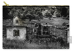 Derelict Farm, Transylvania Carry-all Pouch