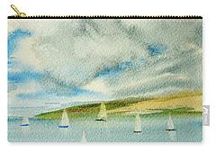 Dark Clouds Threaten Derwent River Sailing Fleet Carry-all Pouch