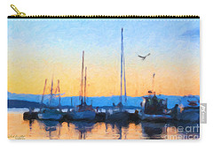 Derwent River Sunset Carry-all Pouch
