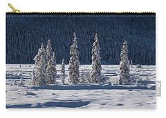 Carry-all Pouch featuring the photograph Des Merveilles D'hiver by Dustin LeFevre