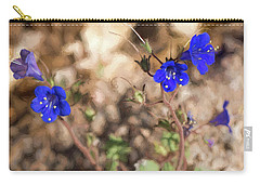 Desert Blue Bells At Joshua Tree National Park Carry-all Pouch