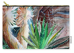Desert Conservatory Carry-all Pouch by Mindy Newman