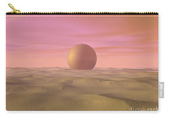 Desert Dream Of Geometric Proportions Carry-all Pouch by Phil Perkins