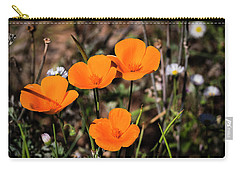 Desert Flowers Four Flowers Four Carry-all Pouch