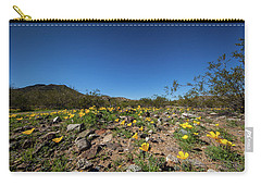 Desert Flowers In Spring Carry-all Pouch by Ed Cilley