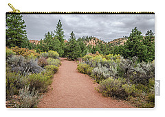 Carry-all Pouch featuring the photograph Desert Fresh by Margaret Pitcher