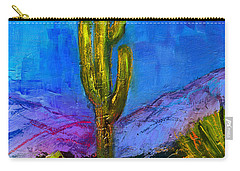 Desert Giant Carry-all Pouch by Elise Palmigiani
