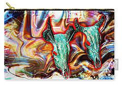 Desert Hallucination Carry-all Pouch by Ian Gledhill