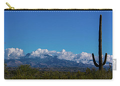 Desert Inversion Cactus Carry-all Pouch