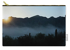 Desert Inversion Sunrise Carry-all Pouch