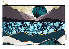 Desert Lake Carry-all Pouch by Katherine Smit
