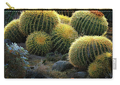 Carry-all Pouch featuring the photograph Desert Lanterns by Melinda Hughes-Berland