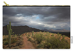 Desert Light And Beauty Carry-all Pouch