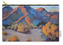 Carry-all Pouch featuring the painting Desert Light by Diane McClary