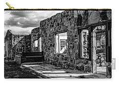 Desert Lodge Bw Carry-all Pouch