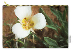 Desert Mariposa Lily Carry-all Pouch