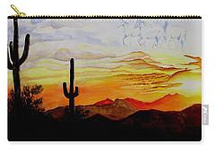 Desert Mustangs Carry-all Pouch