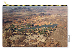 Desert Oasis Near Las Vegas Carry-all Pouch by Kathy M Krause