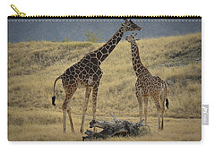 Desert Palm Giraffe Carry-all Pouch