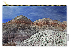 Carry-all Pouch featuring the photograph Desert Pastels by Gary Kaylor