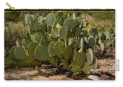 Desert Prickly-pear No6 Carry-all Pouch by Mark Myhaver