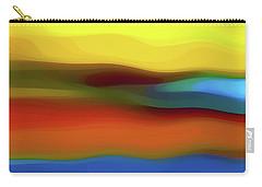 Desert River Landscape Carry-all Pouch