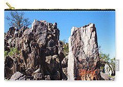 Desert Rocks Carry-all Pouch by Ed Cilley