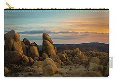 Desert Rocks Carry-all Pouch by Ed Clark