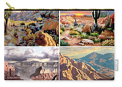 Desert Scape Gallery Carry-all Pouch