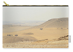 Carry-all Pouch featuring the photograph Desert by Silvia Bruno