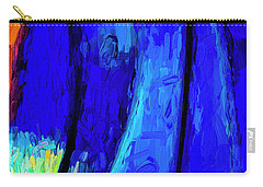 Carry-all Pouch featuring the photograph Desert Sky 2 by Paul Wear