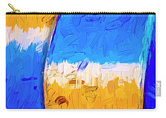 Carry-all Pouch featuring the photograph Desert Sky 3 by Paul Wear
