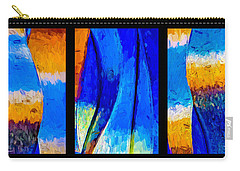 Carry-all Pouch featuring the photograph Desert Sky by Paul Wear