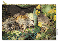 Desert Squirrel Carry-all Pouch