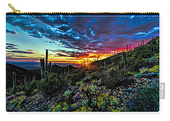 Desert Sunset Hdr 01 Carry-all Pouch