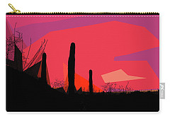 Desert Sunset In Tucson Carry-all Pouch