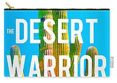 Desert Warrior Poster II Carry-all Pouch